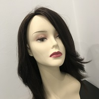 peruki ciemne włosy